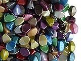 Pinch Bead, 5x3.5mm, 50 piezas, cuentas de vidrio prensado triédrica checas en forma de semillas de...
