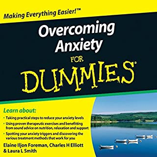 Overcoming Anxiety For Dummies Audiobook cover art