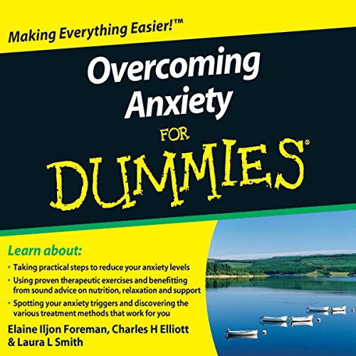 Overcoming Anxiety For Dummies Audiobook audiobook cover art