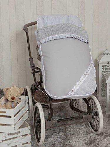 Babyline Bombón - Saco para silla de paseo, color gris