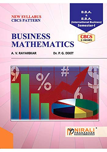 BUSINESS MATHEMATICS (English Edition) eBook: Prof. A. V. RAYARIKAR, Dr. P. G. DIXIT: Amazon.es: Tienda Kindle