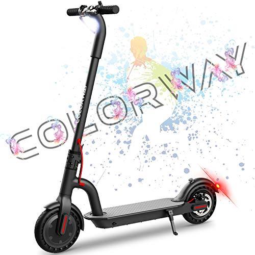 COLORWAY CX914 Elektroscooter Elektroroller E Scooter E Roller Cityroller Faltbar, Batterie 7.5Ah - 250W Motor - Höchstgeschwindigkeit 25KM/H, für Erwachsene und Jugendliche