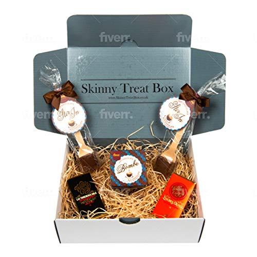 Vegan Hot Chocolate Box - Luxury Vegan Hot Chocolate and Vegan Chocolates in a beautiful gift box