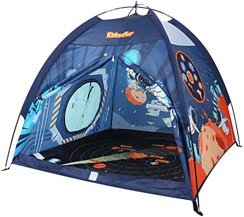 Space World Kids Play Tent Indoor Outdoor Tent Playhouse for Boys Girls Children 48 x 48 x 43 product image