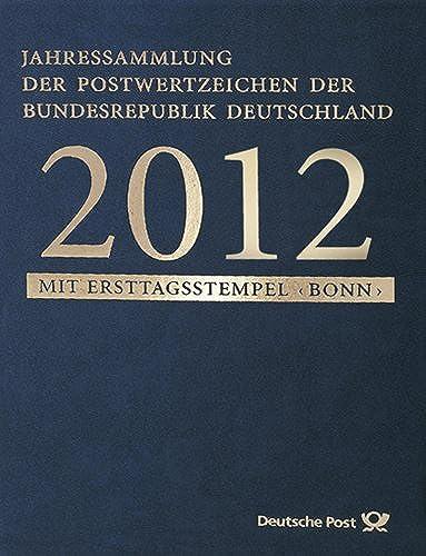 Goldhahn BRD-Jahressammlung 2012 - Briefmarken für Sammler