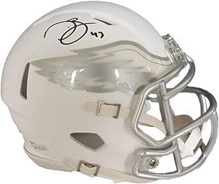 Darren Sproles Philadelphia Eagles Signed Autograph Rare ICE Speed Mini Helmet Helmet JSA Witnessed Certified