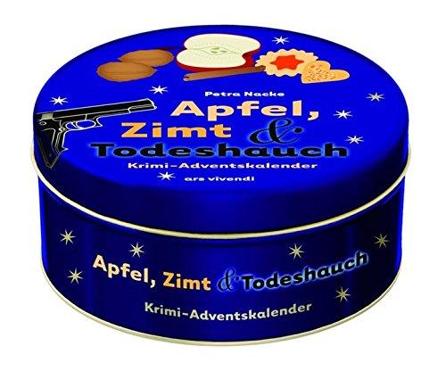 Adventskalender Apfel, Zimt & Todeshauch 2012 - Krimi-Adventskalender mit 24 Karten zum Aufhängen