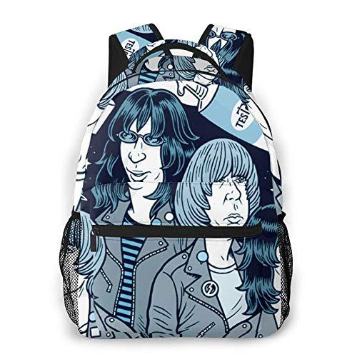 Ramones Classic Seal Unisex-adultos Hombres y mujeres Mochila de gran capacidad Gr¨¢fico Ligero Viaje Ocio Moda Bolsa Talla ¨²nica
