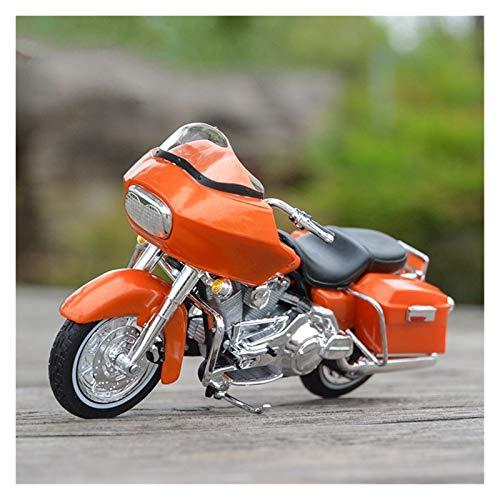 Motorrad Metall Modell 1:18 2002 Pour FLTR Road Glide Véhicules Moulés Sous Pression À Collectionner Loisirs Moto Modèle Jouets