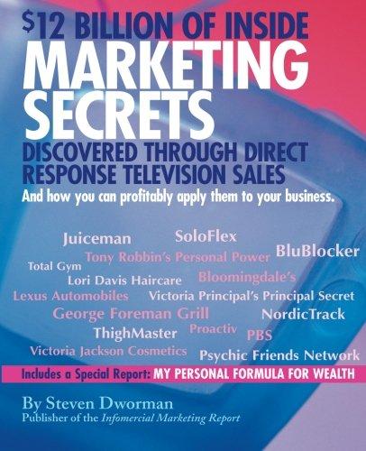$12 Billion of Inside Marketing Secrets: Discovered Through Direct Response Television Sales