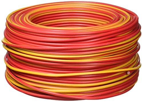 Sanelec 4080 Cable THW, Calibre 12 AWG, Color Rojo 100M