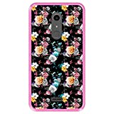 Hapdey Phone Case for [ Alcatel A3 XL ] design [ Floral