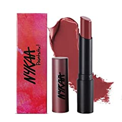 Back up and wind it with the Nykaa Paintstix! Lipstick in Grunge Brown. This deep brown shade is sure to give you that trendy, 90 s grunge look! C mon turn the stereo on and swing to the finest 90's tracks with this delicious, irresistible shade. The...