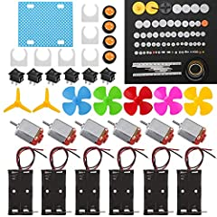 Pay attention: Please note that this is a diy accessory kit that cannot be a complete model.Please read the instructions or pictures carefully, use the correct circuit diagram to avoid short circuit, short circuit will produce high temperature and ca...