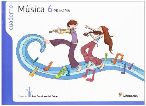 CUADERNO MÚSICA 6 PRIMARIA - 9788468009650