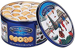 Bisca Dansk Danish Butter Cookie Assortment -5 LBS