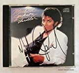 Collect Authentic Michael Jackson CD de 'Thriller' con Autógrafo COA #MJ47169