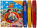 Disney Pixar Toy Story, Cars, Finding Nemo, and more! - Little First Look and Find 4 Activity Book Vinyl Bag Set - PI Kids