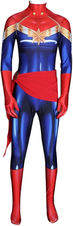 mejor oferta BLOIBFS Capitán Traje De CosJugar CosJugar CosJugar Body Adulto con Cinturón Y Distintivo,A-XL  costo real