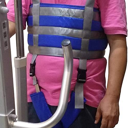 515 tdsZdUL - Manejar Médico Cuerpo Completo Paciente Eslingas De Elevación Muslo Cadera Cintura Lumbar Atrás Apoya En Pie SIDA Entrenadores Pierna Ejercicio Con Acolchado Cofre Buffer Gran Capacidad De Carga