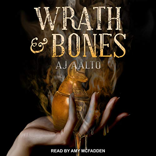 Wrath & Bones     Marnie Baranuik Files Series, Book 4              By:                                                                                                                                 A.J. Aalto                               Narrated by:                                                                                                                                 Amy McFadden                      Length: 20 hrs and 3 mins     11 ratings     Overall 4.9