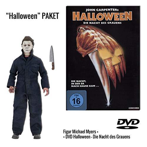 Halloween 1 DVD - Die Nacht des Grauens + Michael Myers Figur (ca. 20 cm)