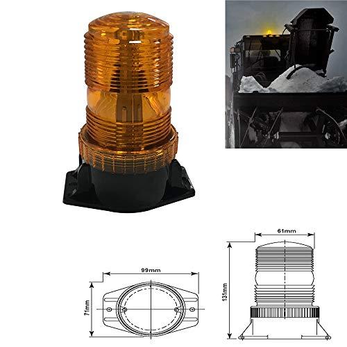 LED-controlelampje Ambra, LED-stroboscooplicht, knipperlicht, voor heftrucker, vorkheftrucker, voor caravans