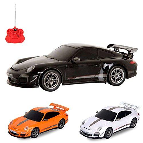HSP Himoto Porsche 911 GT3 RS 4.0 - RC ferngesteuertes Lizenz-Fahrzeug im Original-Design, Modell-Maßstab 1:24, Ready-to-Drive, Auto inkl. Fernsteuerung