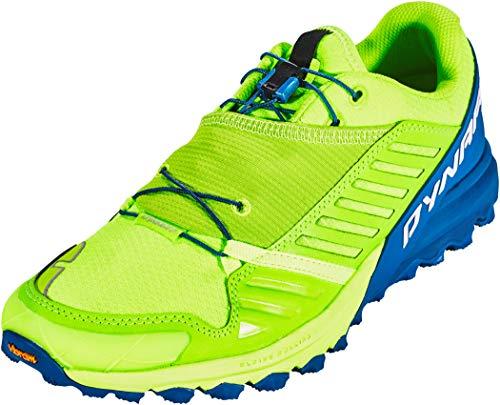 Dynafit Alpine Pro, Scarpe da Trail per uomo, Uomo, 64028-2093-11.0, Fluo Yellow Mykonos Blue, 10