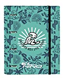 safta Carpeta 4 Anillas de 30mm de El Niño Beach Party con 100 Hojas A4, 270x35x320 mm