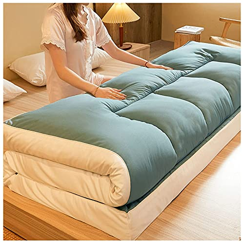 Futon Furniture Traditional Japanese Cotton Fiber Colchón Plegable Colchón de Suelo, Colchón...