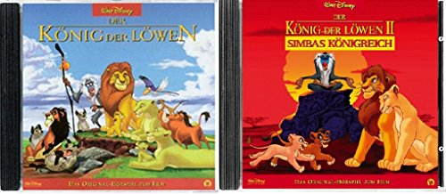 2 CDs - Der König der Löwen - Das Original Hörspiel zum Film 1+2 im Set - Deutsche Originalware [2 CDs]