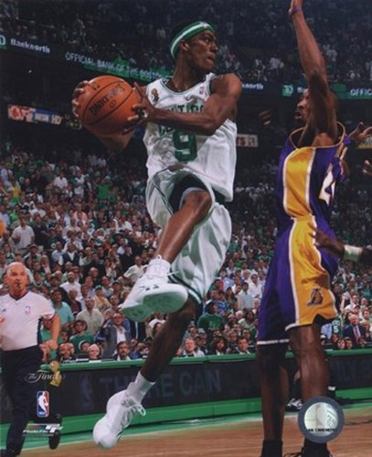 Rajon Rondo Game Six of the 2008 NBA Finals; Action #25 Photo Print (40,64 x 50,80 cm)