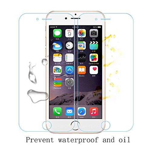 Ycloud Panzerglas Folie Schutzfolie Displayschutzfolie für Huawei Ascend Y330 screen protector mit Härtegrad 9H, 0,26mm Ultra-Dünn, Abgerundete Kanten - 4