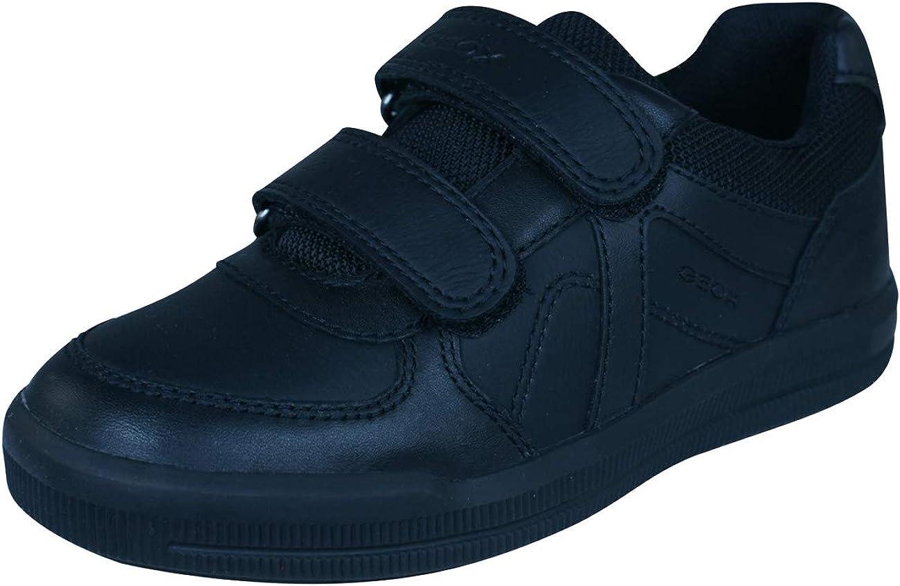 Geox Boy's Low-Top Trainers School Uniform Shoe, 28 EU