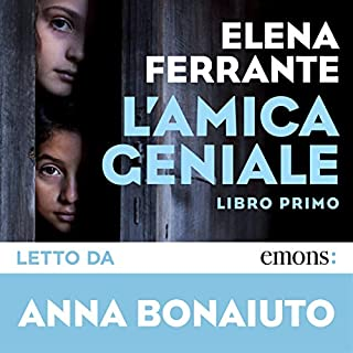 L'amica geniale audiobook cover art