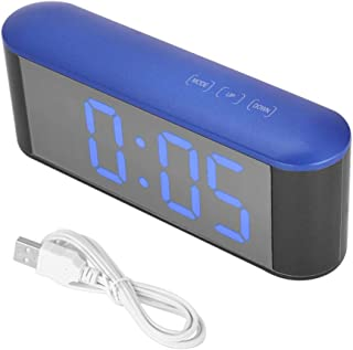 ساعة رقمية ، ساعة رقمية إلكترونية ، الوقت/درجة الحرارة (درجة مئوية / (بلو شيل بلو راي)