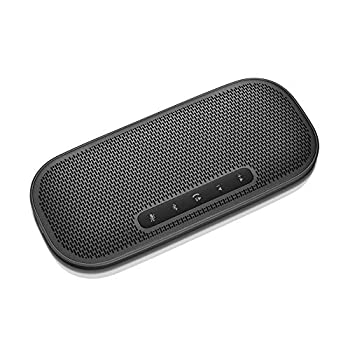 Lenovo 700 Ultraportable Bluetooth Speaker USB-C & NFC Connectivity Rechargeable Battery 2 Hour Charge for 12 Hours Play IPX2 Splash Resistance Smaller Than Smartphone 0.32 Pounds GXD0T32973
