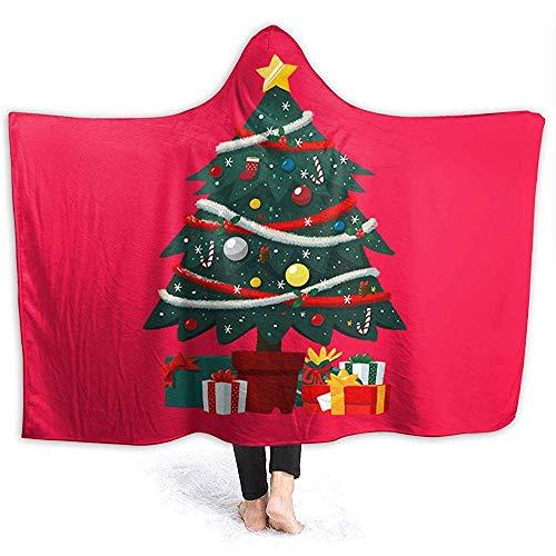 Duanrest Regalo Debajo árbol Navidad Mantas Capucha