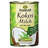 Alnatura Bio Kokosmilch, vegan, 6er Pack (6 x 400 ml)
