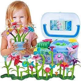 BIRANCO. Flower Building Toy Set