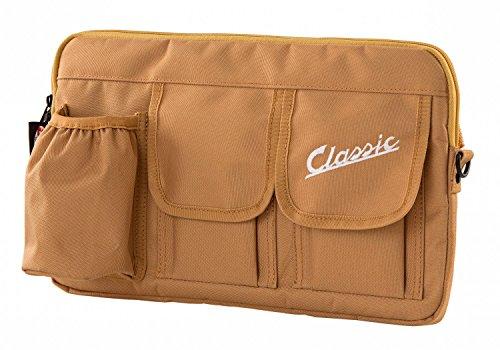 Tasche SIP Classic, für Gepäckfach/Handschuhfach, für Vespa 360x210x30 mm, Nylon, braun