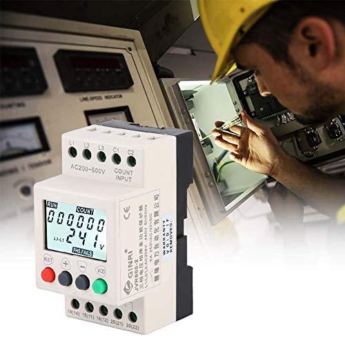 LHQ-HQ Spannungsschutzrelais, JVR800-2 Unter Überspannungsschutz 3-Phasen-Spannungsüberwachung Sequenz Schutzrelais