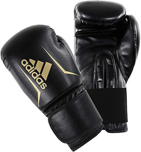 adidas Guantes de Boxeo Speed 50, Negro, 10, ADISBG50