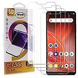 Guran 4 Paquete Cristal Templado Protector de Pantalla para Sharp Aquos D10 Smartphone 9H Dureza Anti-Arañazos Alta Definicion Transparente Película
