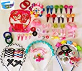Amin Hair Accessories Combo for Kids School Girl Baby Girls Rubber Bands Easy to use in Styling Fashion Access
