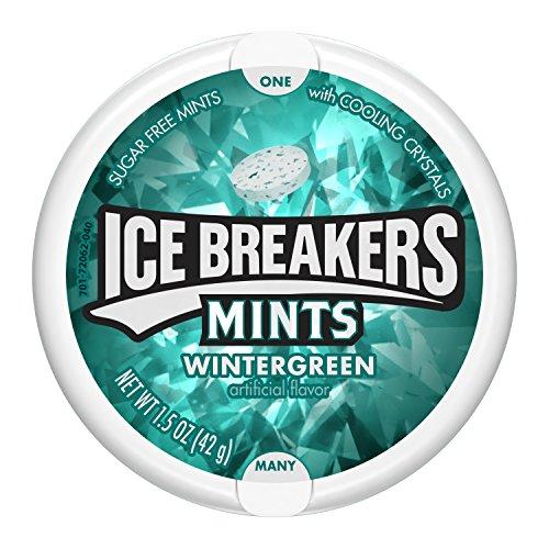 Ice Breakers Wintergreen zuckerfrei,  8er Pack (8 x 42 g)