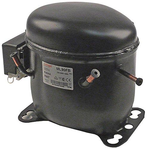 Polaris ML90FB - Compressore per TSR02, TRECO02, KTARI140, TPECO02 50Hz 11kg altezza 198mm 8,85 cm3 Refrigerante R404a/R507 1/3 HP