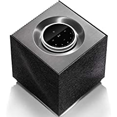 high-resolution playback up to 24-bit/384kHz resolution (48kHz over wireless network) wired connections includea 3.5mm stereo analog, USB port, Ethernet, and optical digital can be part of a Naim multi-room wireless audio system