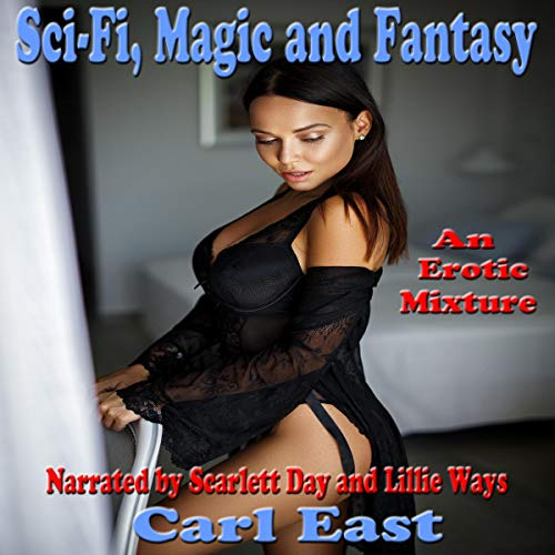 Sci-Fi, Magic and Fantasy audiobook cover art